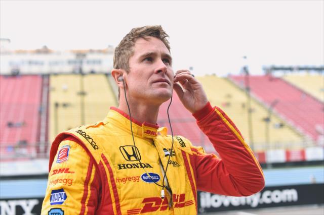 Hunter-Reay corrió este año en Daytona con Michael Shank Racing (FOTO: Chris Owens/INDYCAR)