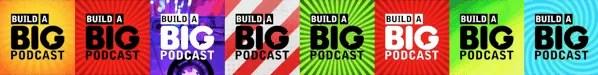 build a big podcast - episode art