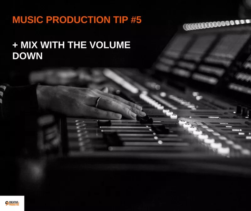 Music production tips #5