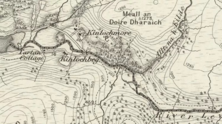 1897 OS Map of Kinlochleven