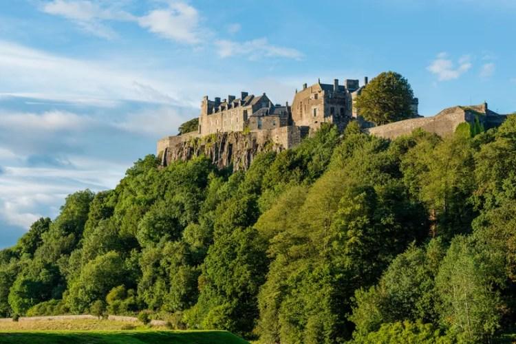 Stirling Castle from below