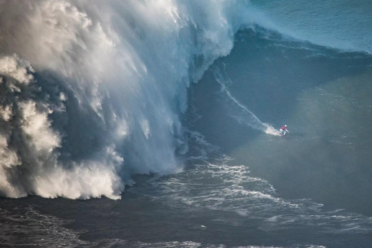 Maya Gabeira Sets Largest Wave Guiness World Record