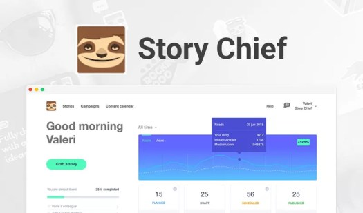 Blog Software, Story Chief