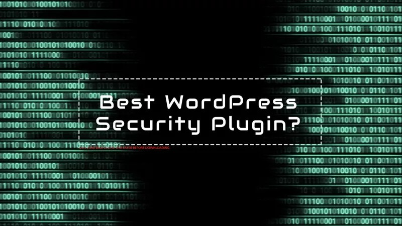Do I need a security WordPress Plugin?