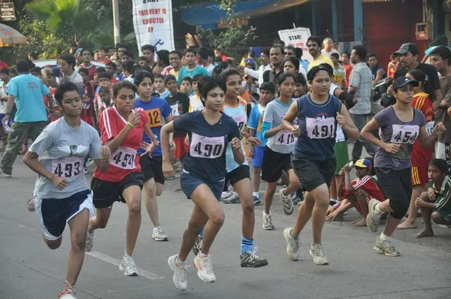 Sports event at Celebrate Bandra Festival