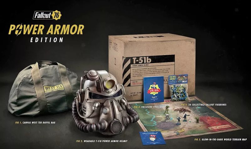 'Fallout 76' Power Armor Edition buyers canvassed for a new bag...Bethesda responds 1