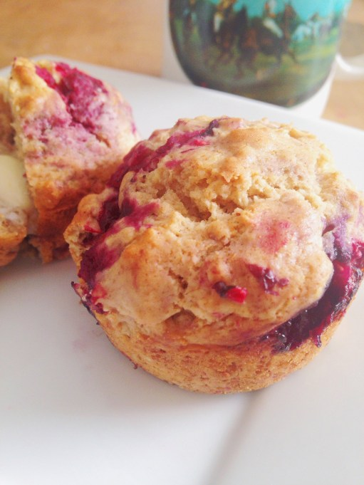 Frozen Berry Muffins