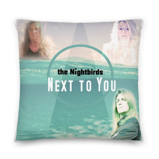 Next To You Album Cover by The Nightbirds Premium Pillow