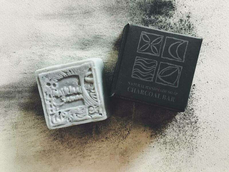 Charcoal Natural Hand Made Soap 110gm / 3.9 oz