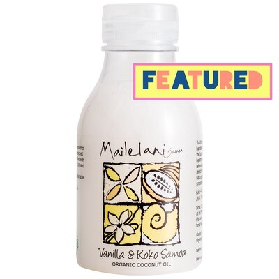 Vanilla & Koko Samoa Organic Coconut Body Oil 300ml / 10.14 fl oz