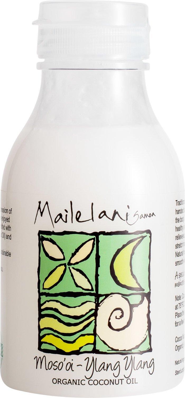 END OF STOCK OIL - Mosooi (ylang ylang) Organic Coconut Body oil 300ml / 10.14 fl oz