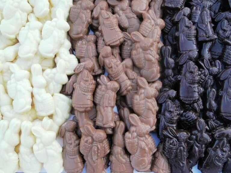 Paas chocolade (mix)