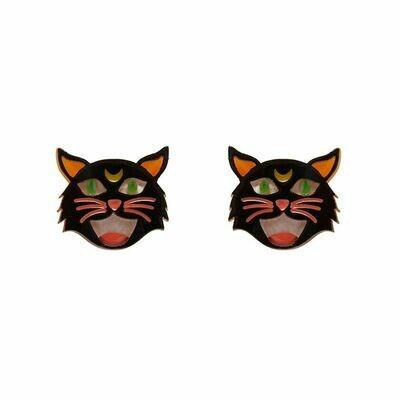 Hex Kitten Earrings by Erstwilder