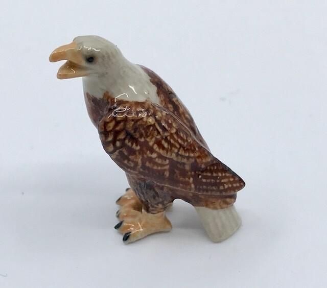 Eagle Miniature Porcelain Bird