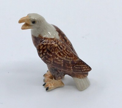 Eagle Miniature Porcelain Bird