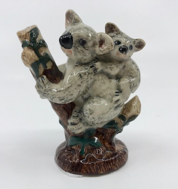 Koala and Baby Miniature Porcelain