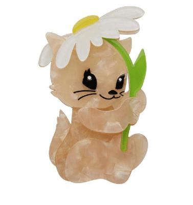 Spring Kitten Brooch