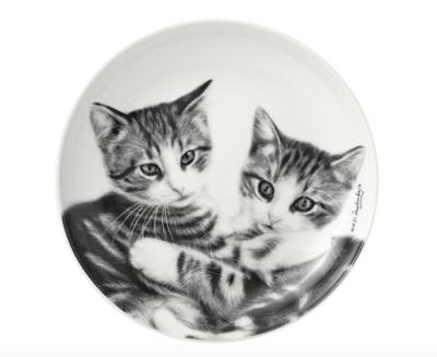 Cuddling kittens Trinket Dish by Ashdene
