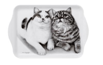 Fixated Felines Scatter Tray by Ashdene