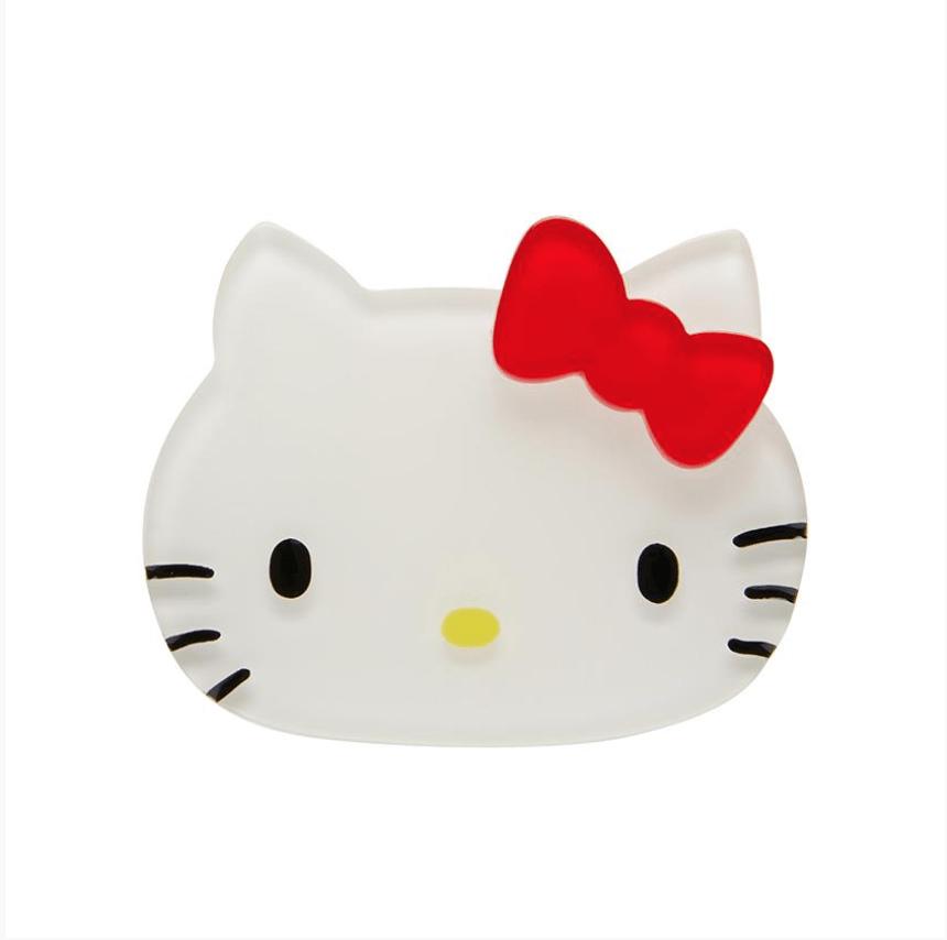 Hello Kitty Brooch by Erstwilder