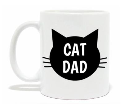 Cat Dad Mug