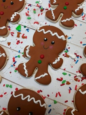 Gingy Sugar Cookies