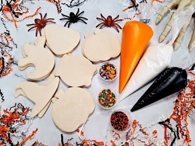 Halloween Cookie Decorating Kits