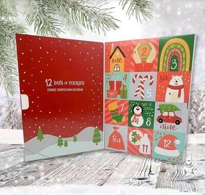 Advent Christmas Cookie Calendar - PRE SALE