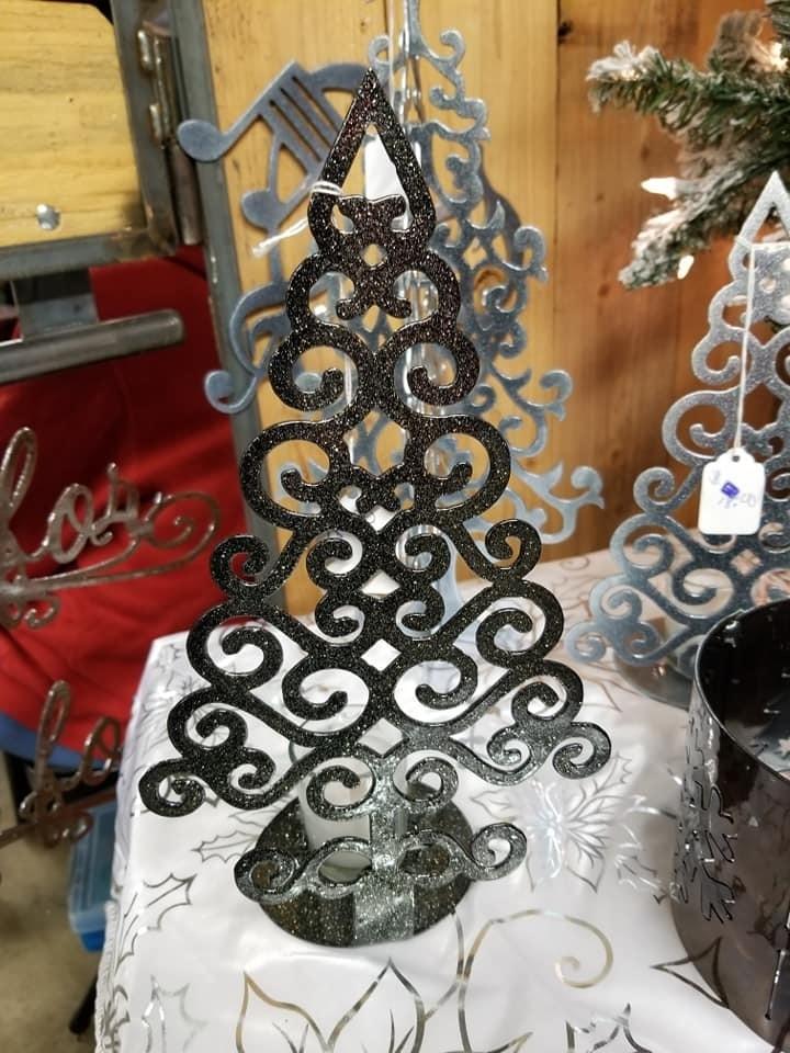 Celtic Christmas Tree  Candle Holder