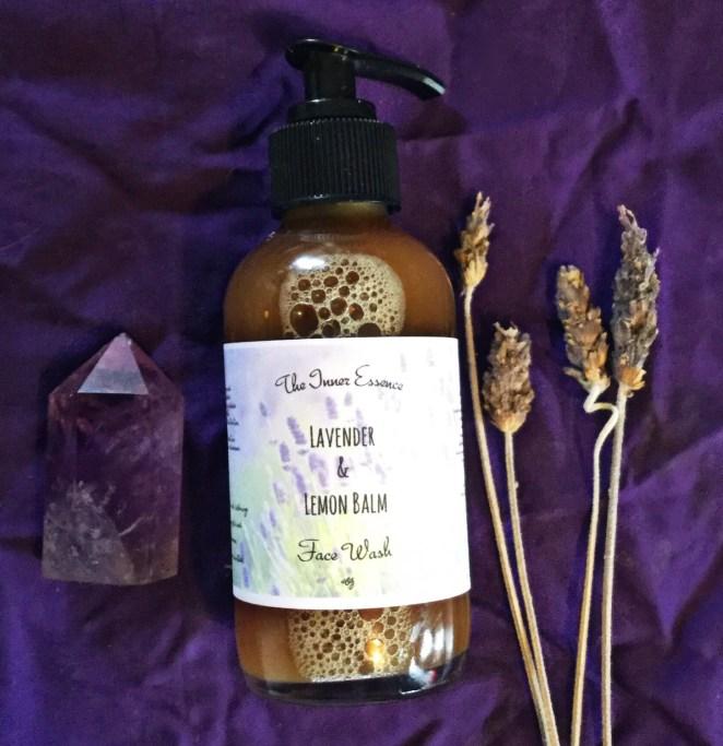 Lavender & Lemon Balm Face Wash