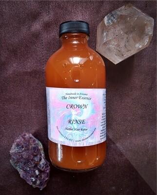 Crown Rinse: Herbal Hair Rinse
