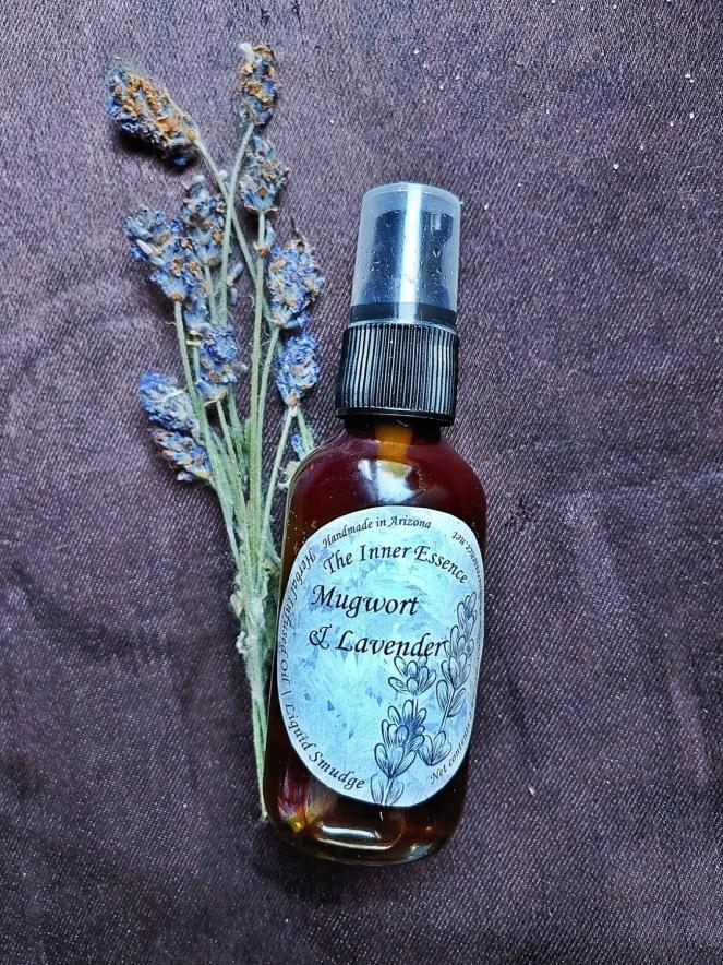 Mugwort & Lavender Oil   Liquid Cleanse
