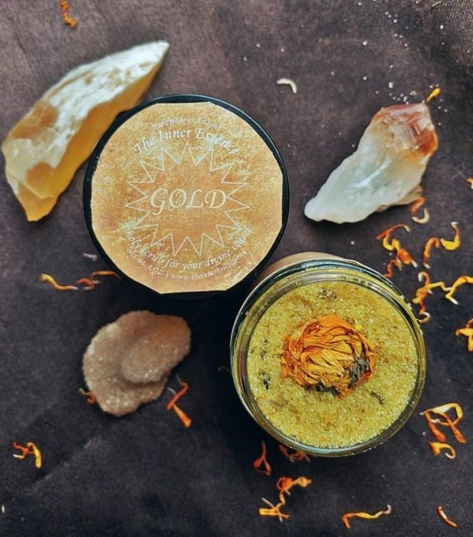 Gold Body Scrub