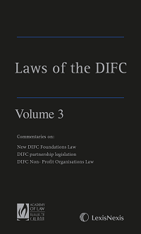 Laws of the DIFC - Volume 3