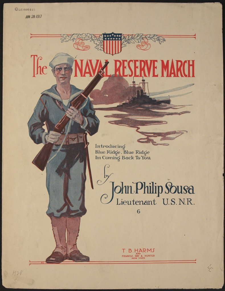 Naval Reserve March by Sousa for Concert Band