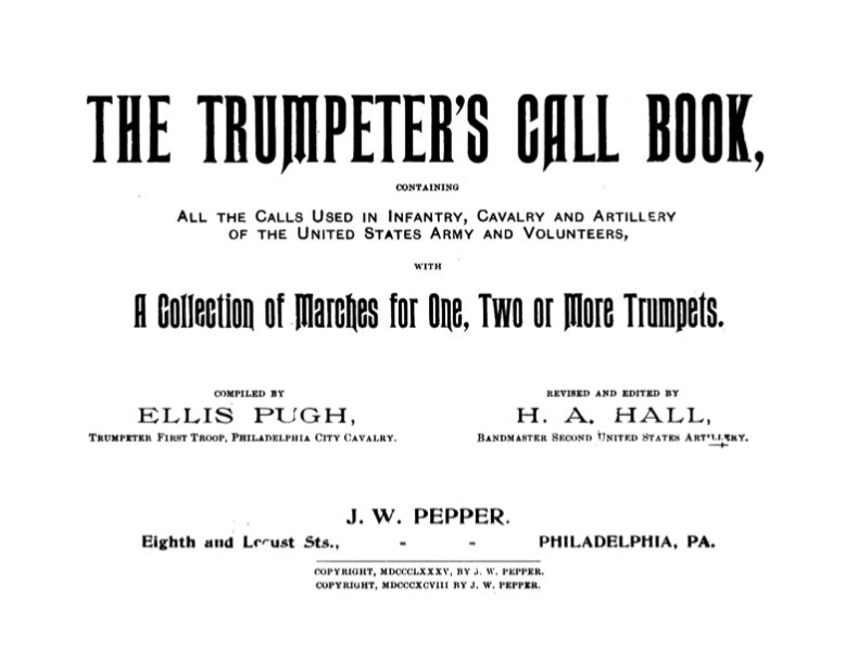The Trumpeters Call Book by Ellis Pugh