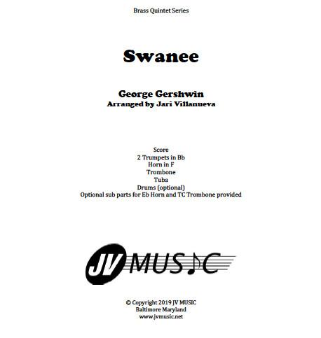 Swanee for Brass Quintet