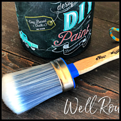 Oval Paint Brush - Medium by DIY Paint