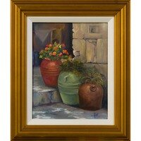 Tuscan Urns -- Lois Haskell