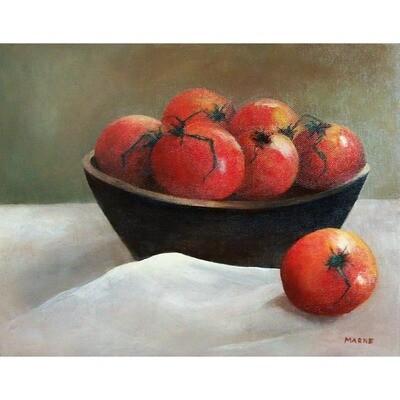 Ripe Tomatoes -- Marne Jensen
