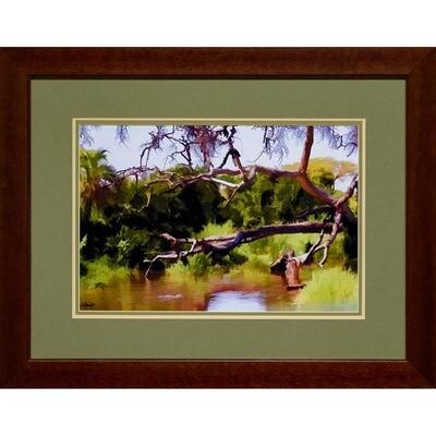 Stagnant Pond -- Jean Burnett