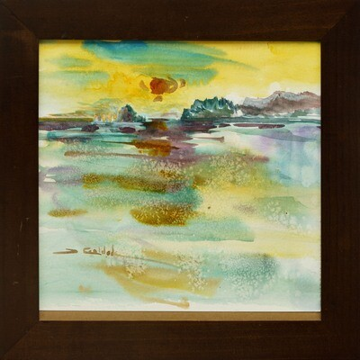 Beach Reflections -- Forrest Goldade