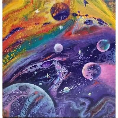 Purple Space -- Leanna Leitzke