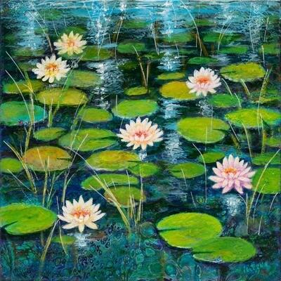 Water Lilies -- Leanna Leitzke