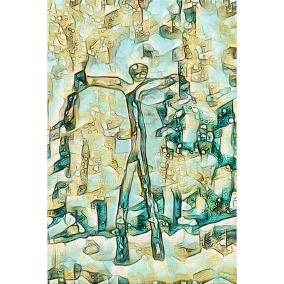 Walking Man -- Jean Burnett