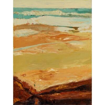Beach in Malibu -- Irena Jablonski