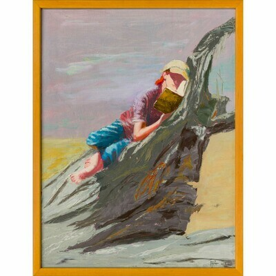 Beach Reader -- Irena Jablonski
