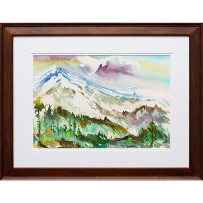 Cascade Crest at Mount Hood -- Forrest Goldade