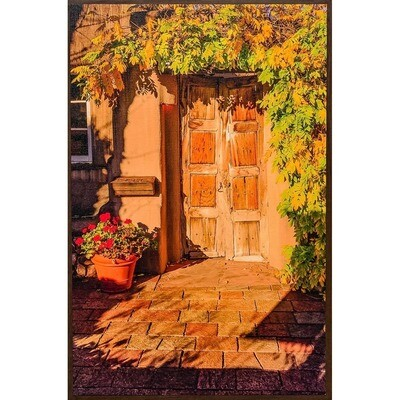 Old Door in the Afternoon Sun -- Lisa Marie Kostal