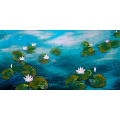 Prelude with Waterlilies -- Hilda Bordianu